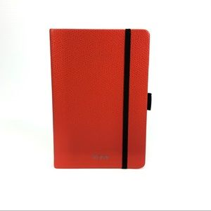 Tumi Province Red Leather Notebook